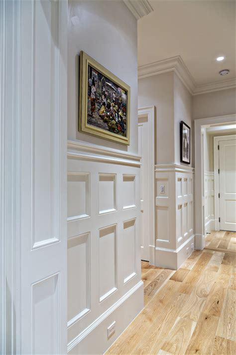 Wainscoting Hallway by Coastal Wainscoting Hallway Detail Traditional