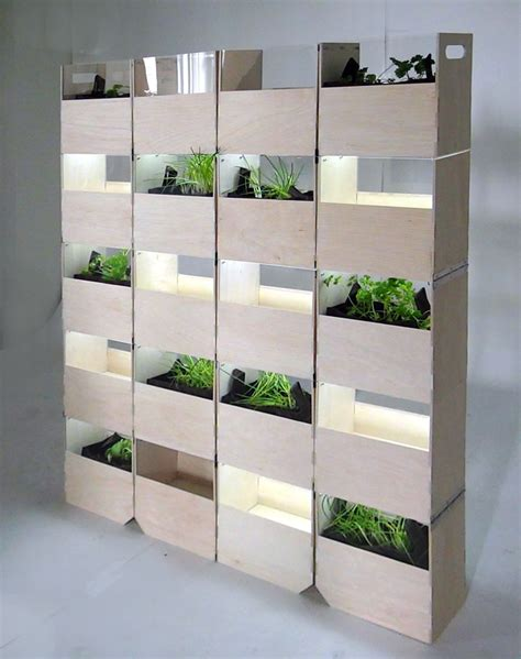 indoor herb garden wall divide and cultivate with this indoor vertical garden