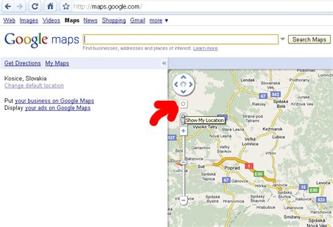 map my location my location in maps mišovic s pages
