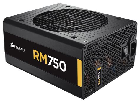 Power Supply Corsair Rm750i Rmi750 Modular Gold review corsair rm750 psu hexus net