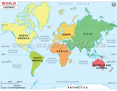 buy world continent map continent map   world