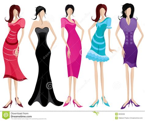 A Fashionable by Fashionable Stock Vector Illustration Of Apparel