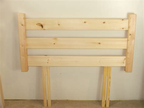 headboard 4ft solid pine 4ft small double headboard