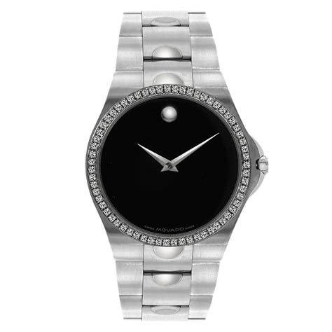 1 20 carat movado luno s in stainless
