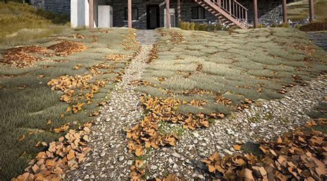 3d Ground Cover Modeling In 3d Studio Max 3d Architectural Visualization Rendering