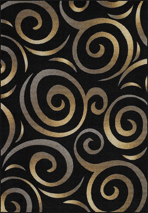 Modern Black Rug Black Modern Rug Corfu Contemporary Black Area Rugs