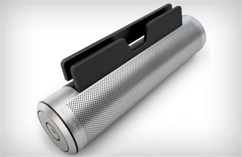 sound cylinder portable bluetooth speaker