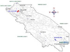 california san benito county boat rs map