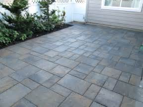Concrete Paver Patio Paver Patios Interlocking Concrete Pavers Contemporary Patio