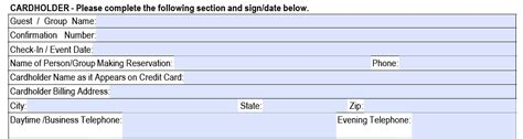 Sle Credit Card Numbers Authorize Net Authorization Form Template Sle Funding Blank