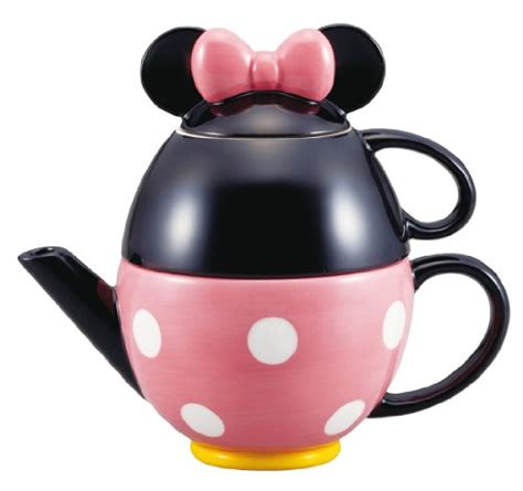 Disney Store Japan Minnie Tea Cup Set For One Ori disney minnie mouse tea set pot and mug san2171 from japan ebay