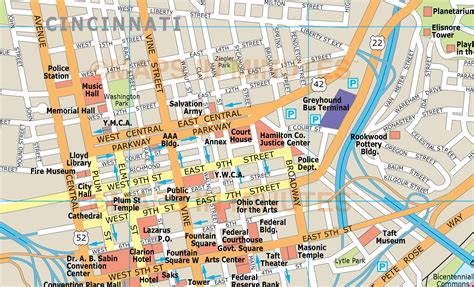 map of usa cincinnati royalty free cincinnati illustrator vector format city map