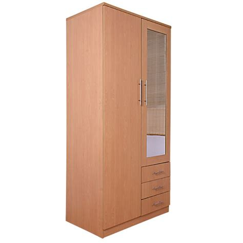 Cheap Wardrobe With Drawers by Cheap Las Vegas 2 Door 3 Drawers Wardrobe With Mirror For Sale