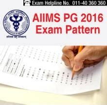 test pattern of aiims aiims pg 2016 exam centres test centres check here