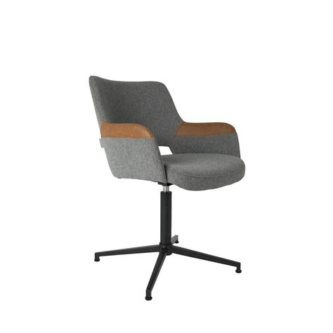 Fauteuil Design Pivotant Syl Zuiver Chaises De Bureau Design