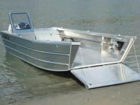 Bow Window Seat landing craft 26 aluminum boat manufacturer thunder jet