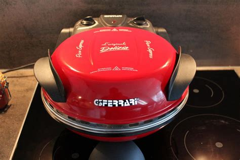 Pizzaofen Ferrari pizza aus dem g3 ferrari pizzaofen grillforum und bbq