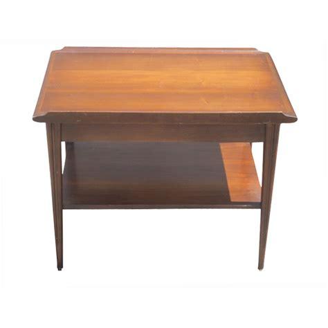 mahogany accent tables vintage mid century scandinavian style mahogany end table