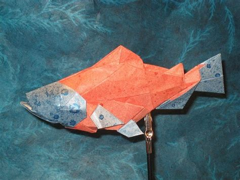Origami Salmon - 33 best images about origami pictures on