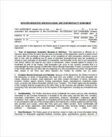 Non Circumvention Agreement Template non circumvent agreement template best letter examples
