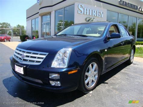 Cadillac Sts Awd 2007 cadillac sts 4 v6 awd in blue chip photo 6 167078