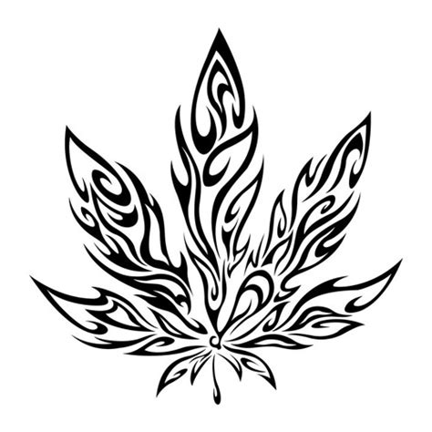 tribal weed tattoos tattoos designs ideas and meaning tattoos for you