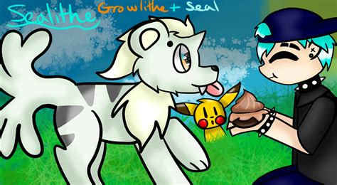 how to challenge seal sealithe for pokemashup challenge seal growlithe by