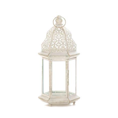 large distressed white lantern wholesale at koehler home decor