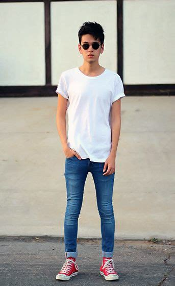 asian men crowns are thin 50 best images about boys and men in skinny jeans on