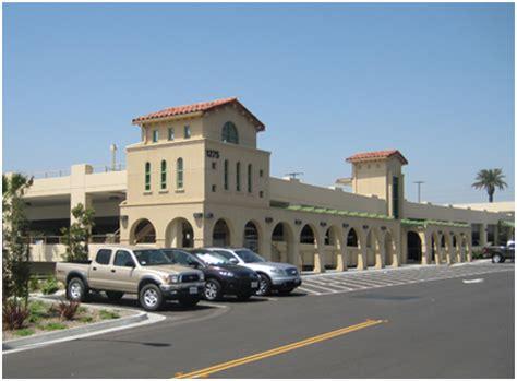 santa fe depot transportation center parking structure san