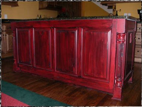 red kitchen cabinets with black glaze red cabinets with black glaze red distressed furniture