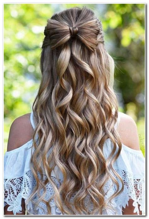 Wedding Bridesmaid Hairstyles Half Up by Bridesmaid Hairstyles Half Up Half New Hairstyle