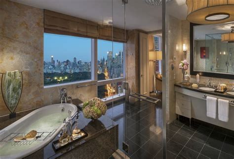 bathrooms nyc luxury defined inside the mandarin oriental new york