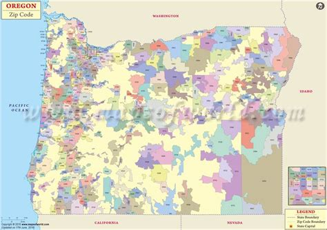 printable zip code map portland oregon oregon zip code map oregon postal code