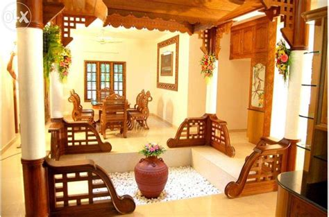 traditional kerala home interiors nalukettu interior search courtyard