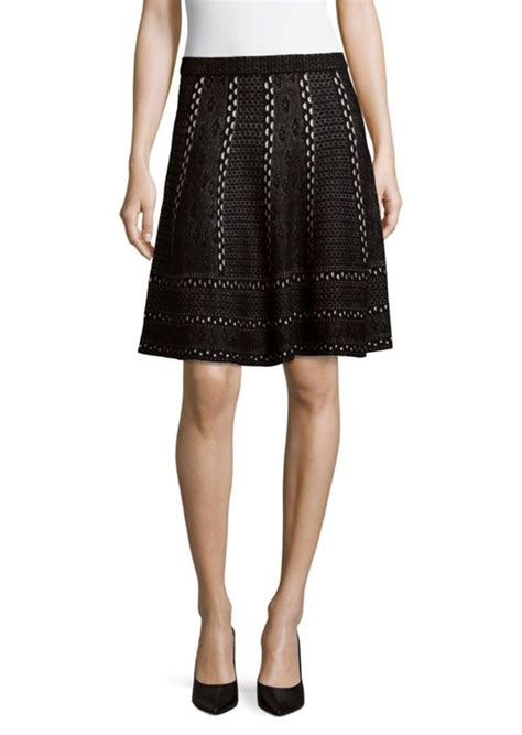 Avenue Black saks fifth avenue saks fifth avenue black flare mini skirt