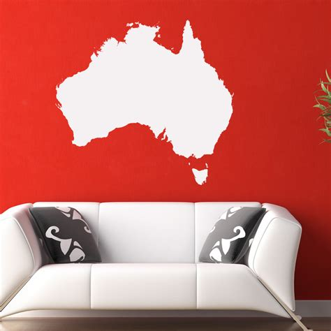wall stickers australia australia map around the world wall decal wall sticker