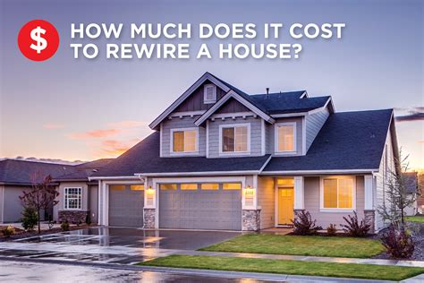 how much is a house how much does it cost to rewire a house platinum electricians