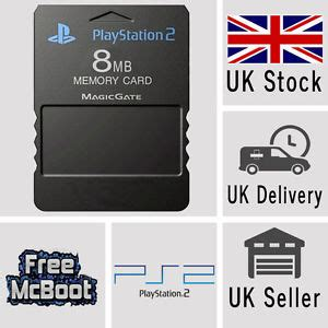 Memory Card Mc Ps2 8mb Hitam free mcboot fmcb 1 953 sony playstation2 ps2 8mb memory card opl esr hd mc boot ebay