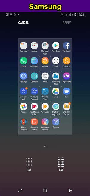 vs samsung experience launcher touchwiz comparison of features