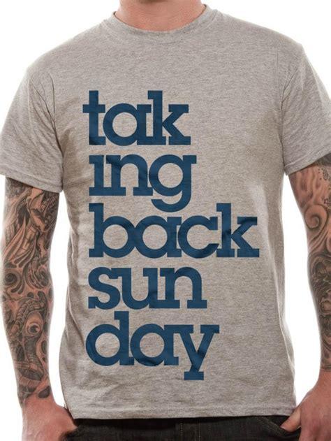 Tshirt Taking Back Sunday taking back sunday logo t shirt tm shop