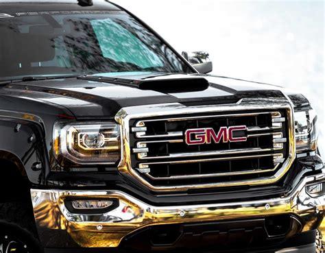 gmc black gmc black widow lifted trucks sca performance lifted