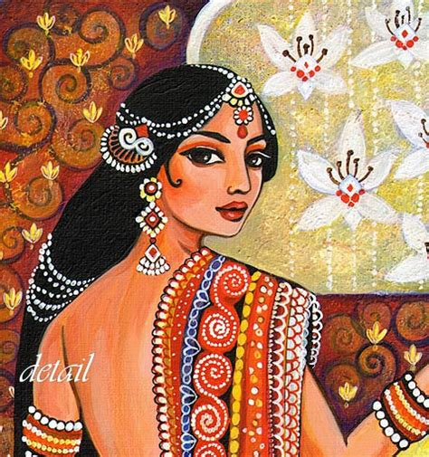 indian painting photo indian goddess traditional indian painting by