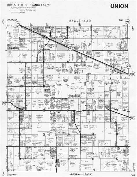 towns in porter county indiana