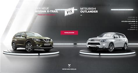 nissan outlander nissan website pits new x trail against japanese and