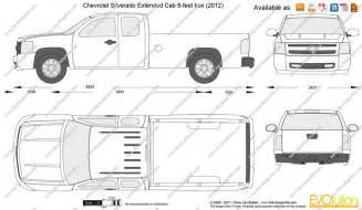 Chevrolet Silverado Bed Size Dimensions Of Chevy Silverado Truck Bed Auto Parts Diagrams