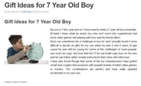 7 year boy gift ideas pinkmaddy on squidoo gift ideas for 7 year boys