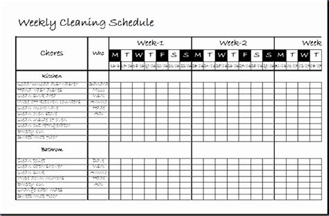 little gene green bean weekly saturday cleaning schedule clean up schedule template christopherbathum co