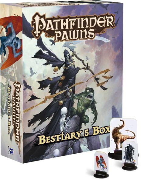 pathfinder roleplaying bestiary 1 paizo pathfinder pawns bestiary 5 box