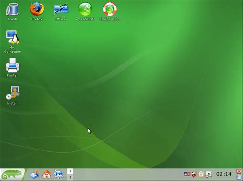 Open Suse techzone opensuse livecd results in blank screen